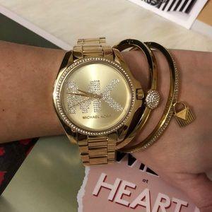fa48987df9a8 Michael kors accessories michael kors gold logo watch jpg 300x300 Mk logo  watch